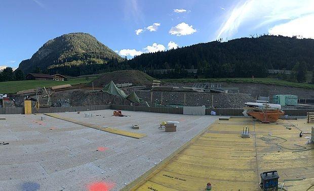 Schleuse TG + Stiegenhaus + Aufzug Tektalan für TG 23.08.2016