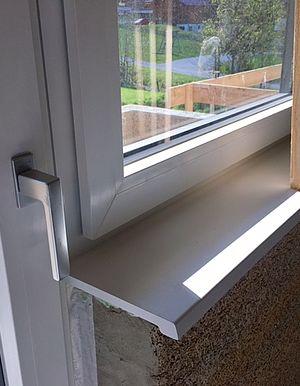 Montage Innen-Fensterbänke